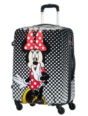 American tourister detký kufor DISNEY LEGENDS POLKA DOT MINNIE SPINNER 65 19C*007