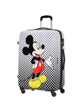 American tourister detký kufor DISNEY LEGENDS POLKA DOT MINNIE SPINNER 75 19C*008