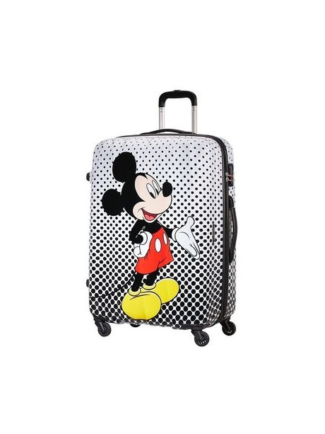 American tourister detký kufor DISNEY LEGENDS POLKA DOT MICKEY SPINNER 65 19C*007