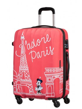 American tourister detký kufor DISNEY LEGENDS MINNIE PARIS SPINNER 65 19C*007