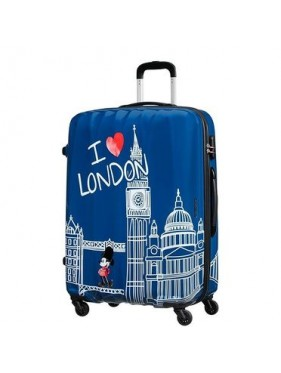 American tourister detký kufor  DISNEY LEGENDS MICKEY LONDON SPINNER 75 19C*008