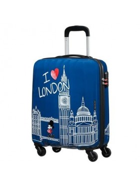 American tourister detký kufor DISNEY LEGENDS ALFATWIST MICKEY LONDON SPINNER 55 19C*019