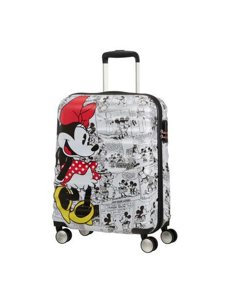 AMERICAN TOURISTER WAVEBREAKER DISNEY SPIN.55/20 DISNEY MINNIE COMICS WHITE