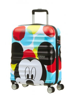 AMERICAN TOURISTER WAVEBREAKER DISNEY SPIN.55/20 DISNEY MICKEY CLOSE-UP