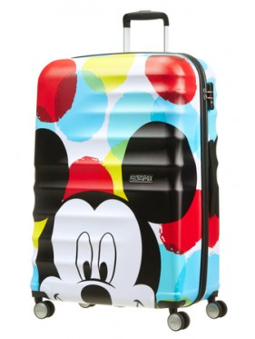 AMERICAN TOURISTER WAVEBREAKER DISNEY SPIN.77/28 DISNEY MICKEY CLOSE-UP