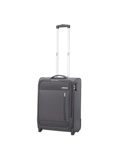 Kufor American Tourister HEAT WAVE UPRIGHT 55  CHARCOAL GREY , 42l